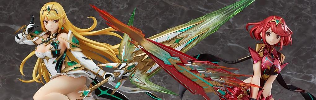 【朗報】早くに予約受付が終了してしまった『ゼノブレイド2』1/7スケールフィギュア「ホムラ」「ヒカリ」について3次受注を検討すると発表!!続報に期待だな!!@ニンテンドースイッチ速報
